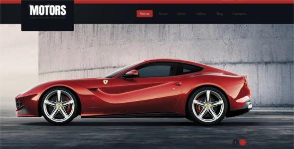 Motor Car Racing Joomla Template