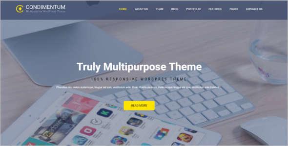 Muiltpurpose It WordPress template
