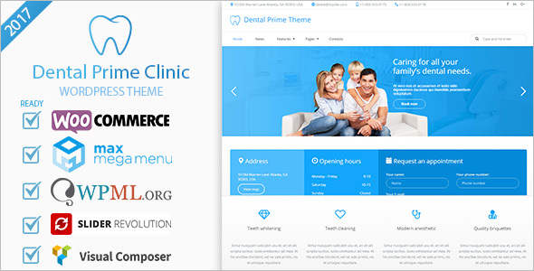 Multi-Purpose Dental care WordPress Theme