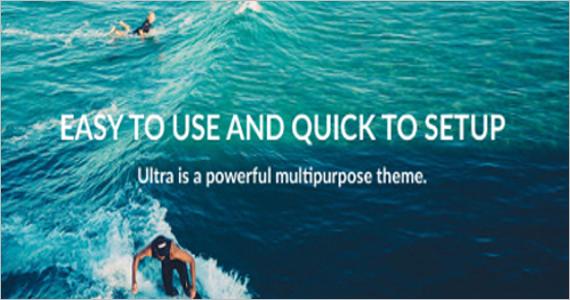 Multi-Purpose Free WordPress Template