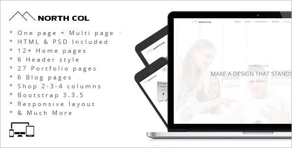 MultiPurpose Drupal Marketing Template