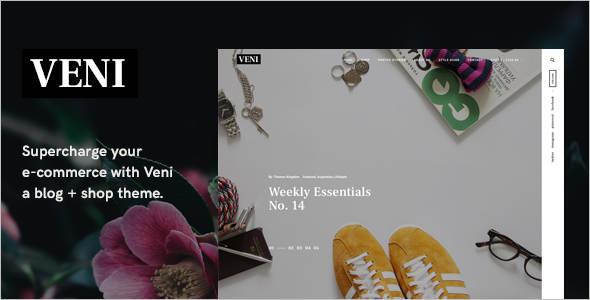 Multipurpose E-commerce WordPress Theme