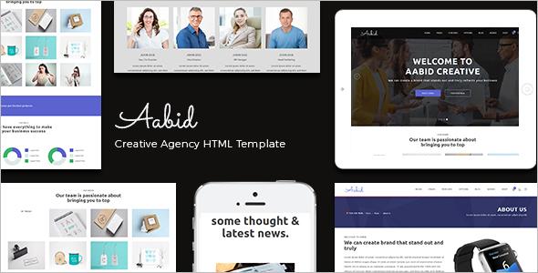 Multipurpose Responsive HTML5 Template