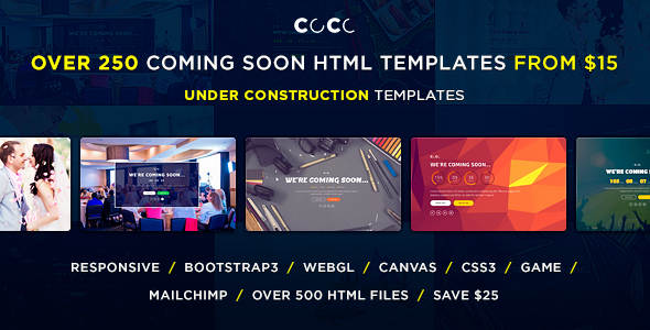 Multipurpose Under Construction Web Template