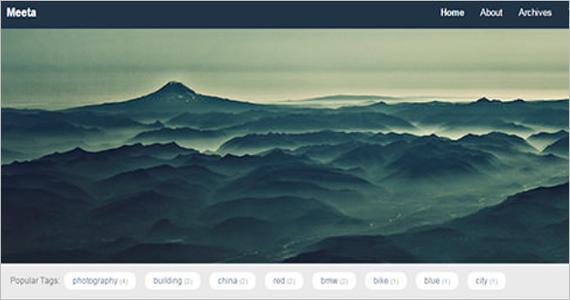 Nature Free WordPress Theme