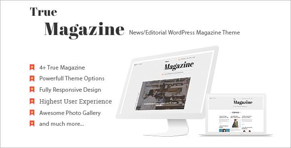 New Editorial WordPress Theme