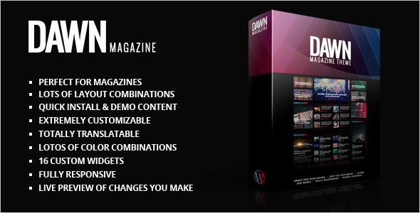 News Publishing WordPress Theme