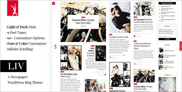 Newspaper Life Style WordPress Theme