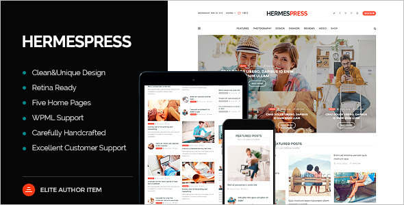 Newspaper WordPress Magazine Theme