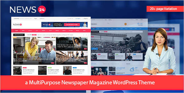 Newspaper WordPress Theme Design
