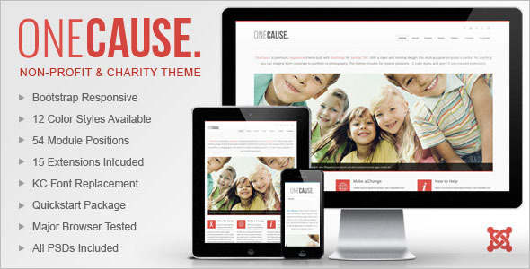 Non-Profit Publisher Joomla Template
