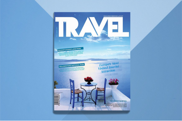 Ocean Blue Travel Brochure