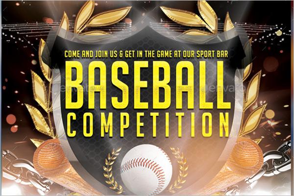 baseball banner templates