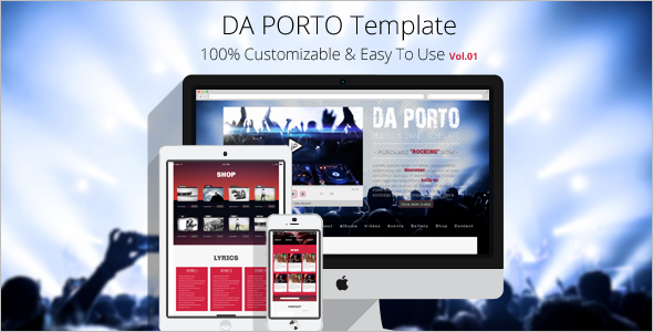 One Page Modx Template