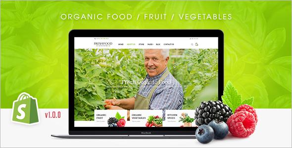 Organic Retail WordPress Theme