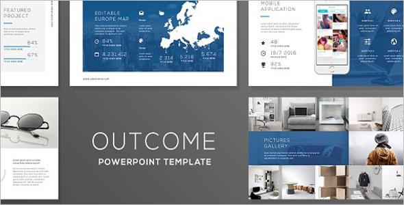 Outcome Infographic Design Template