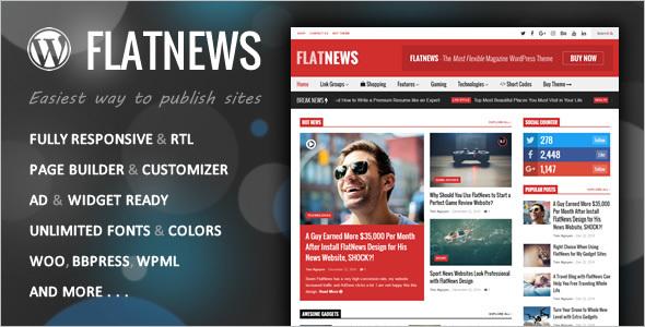 Page Builder Editorial WordPress Theme