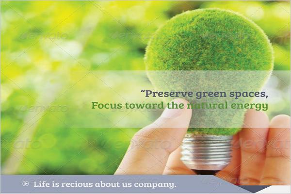 Peace Ecological Environmental Brochure