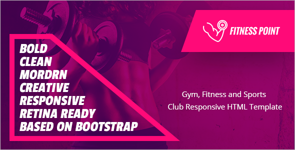 Personal Fitness Website Template
