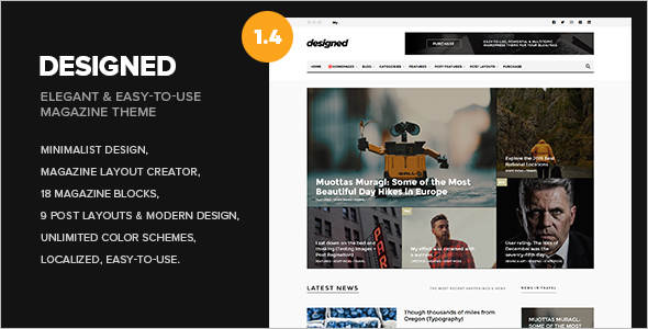 Personal Newspaper WordPress Theme