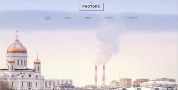 Photo Studio Website Template