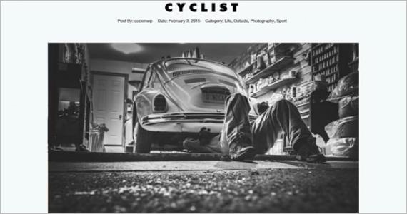 Photography Free WordPress Template