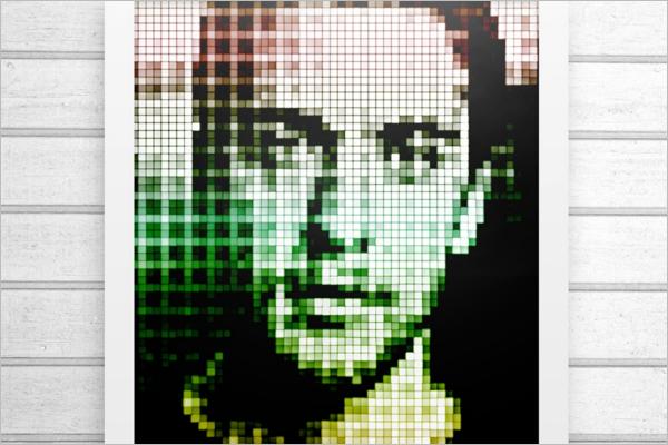 Pixel Art Action Design