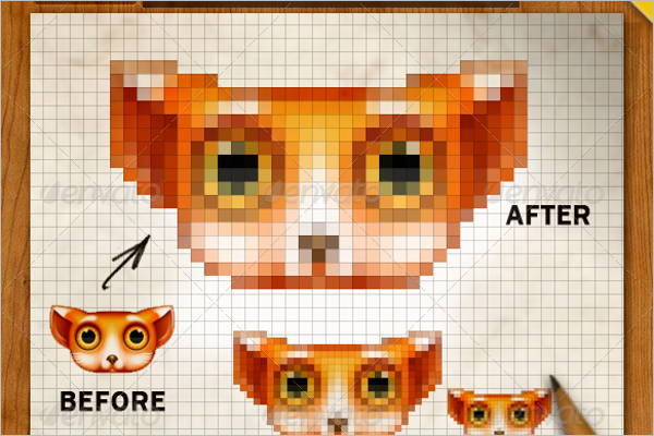Pixel Art Creator Design