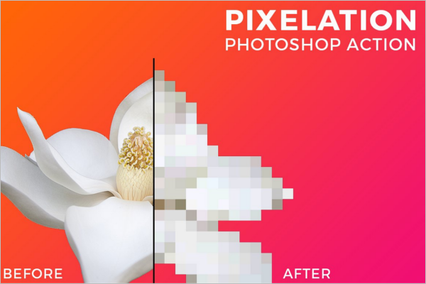 Pixel Art Photoshop Design