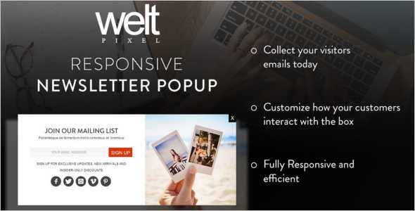 Pixel Mobile Newsletter Template