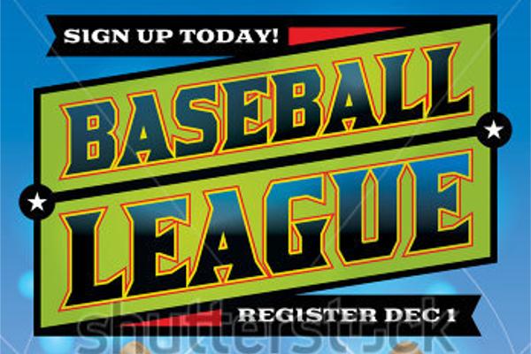 Playoff Baseball Flyer League