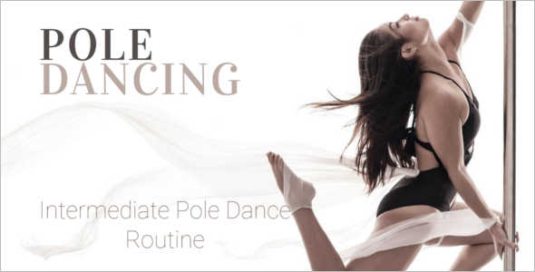 Pole Dance Studio Website Template