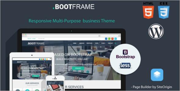 Portfilio Mobile WordPress Template