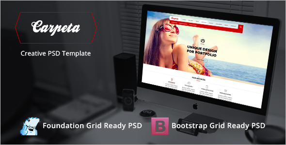 Portfolio Bootstrap PSD Template