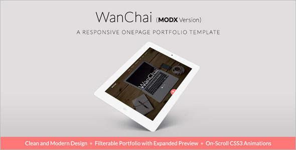 Portfolio MODX Template