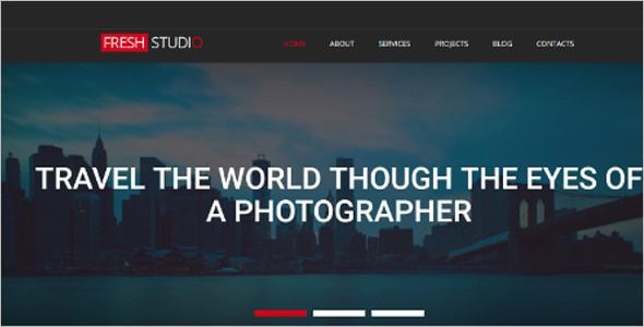 Portfolio Photo Gallery Bootstrap Templates