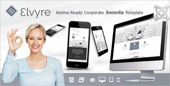 Portifilio Professional Joomla Template