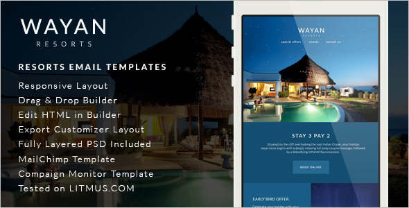 Portifilio Travel Email Template