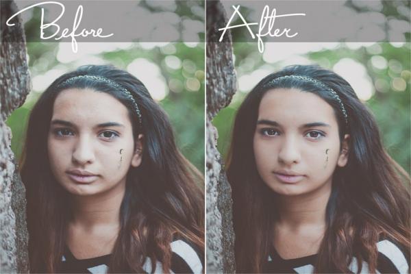 Portrait Photography Editing Model