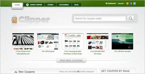 Powerful Coupon WordPress Template