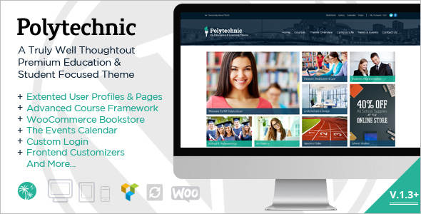 Powerful Education Blog Template