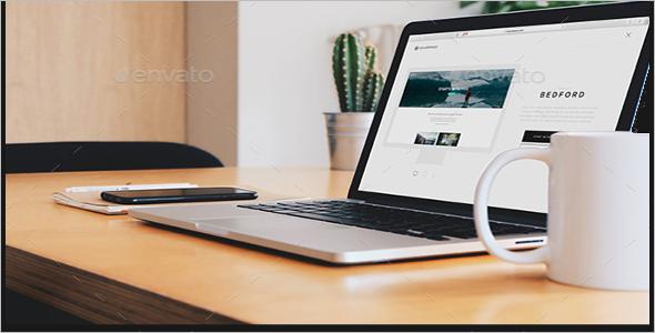 Powerpoint UI Design Mock-Up