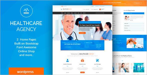 Premium Dental care WordPress Theme