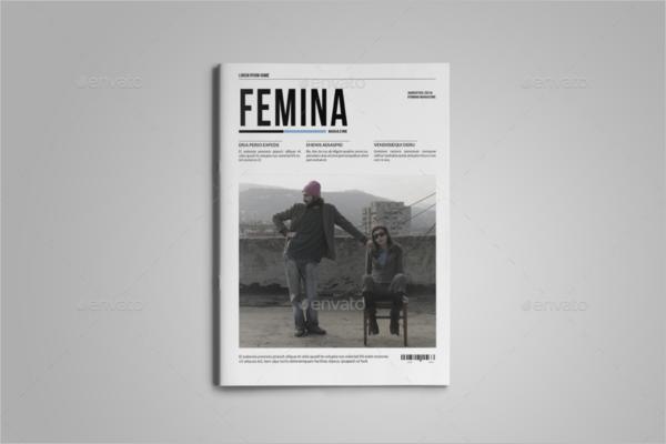 Premium Femina Magazine Template