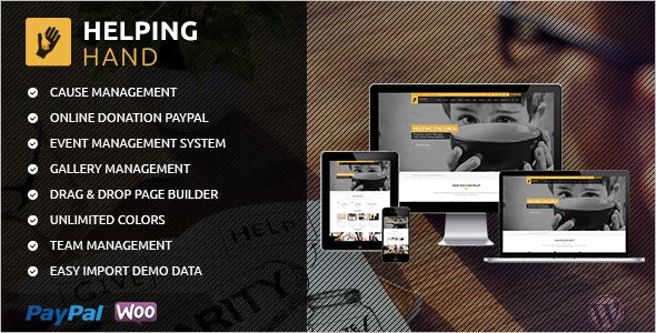 Premium Fundraising WordPress Theme