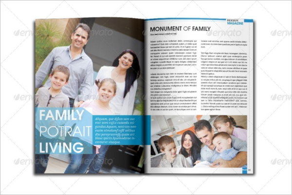 Premium Lifestyle Magazine Template