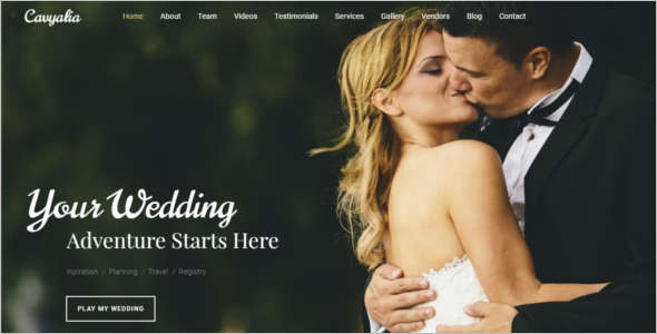 Premium Moto Wedding Blog Template