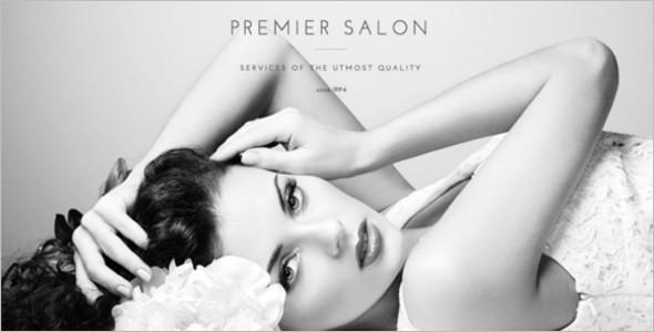 Premium Salon Full-Screen Theme