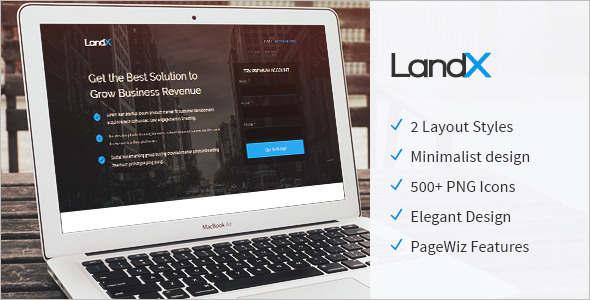 Pricing Table Pagewiz LandingPage Template