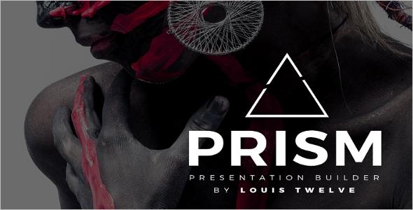 Prism PowerPoint DesignTemplate